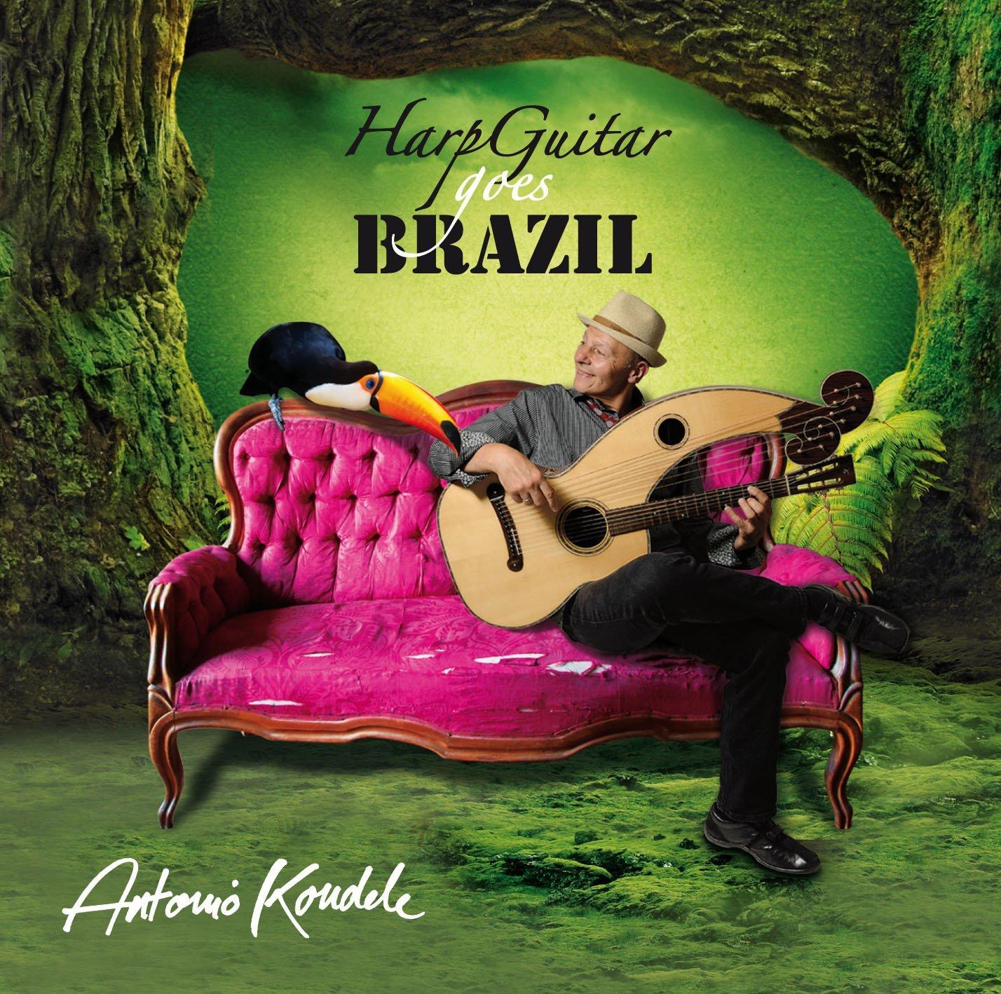 HarpGuitarGoesBrazil_AntonioKoudele_2015_Cover